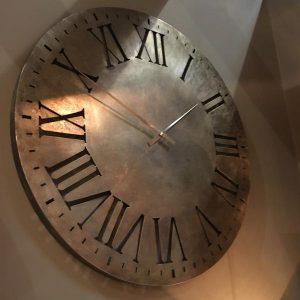 Roman Numeral Wall Clock metal