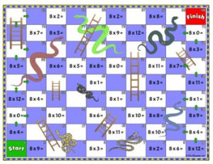 8 Times Table Games