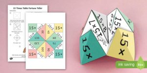 15 Times Table Games