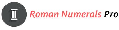 Roman Numerals Pro